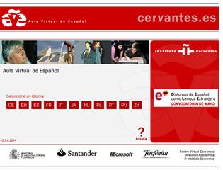 Die AVE Spanisch Lernen Online-Plattform